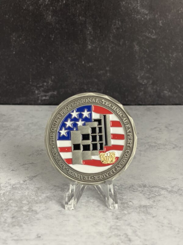 Quiet Professional - Warrant Officer Challenge Coin