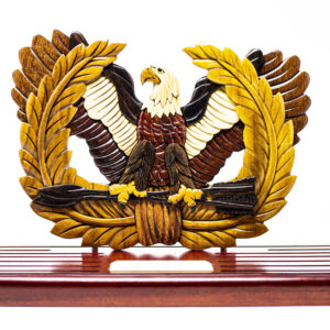 3D/Standing Eagle Rising Coin Holder
